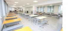 У тернопільській школі №8 проведено капітальний ремонт їдальні та встановлено нове обладнання для харчоблоку