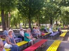 Жителі Тернопільської громади поважного віку мають можливість провести дозвілля цікаво та з користю