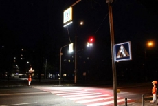 На пішохідних переходах у Тернополі облаштовують додаткове освітлення