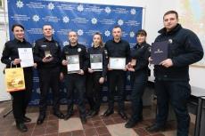 Сергій Надал привітав тернопільських патрульних з нагоди третьої річниці їхньої діяльності у Тернополі