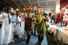 Сергій Надал долучився до традиційної пластової зустрічі «Різдвяна Свічечка»