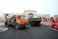 Сергій Надал оглянув стан робіт з реконструкції Привокзальної площі Тернополя