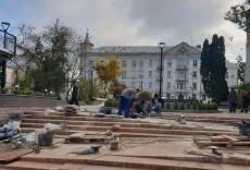 Звіт міського голови Сергія Надала про виконання ремонтних робіт у Тернополі з 3 жовтня до 10 жовтня 2019 року