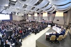 У Тернополі за участі Прем'єр-Міністра Володимира Гройсмана та міського голови Сергія Надала відбулося засідання Ради регіонального розвитку