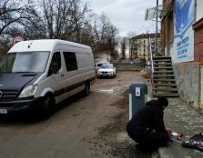 На вул. М. Шашкевича демонтовано обмежувач руху