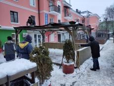 На вул. Гетьмана Сагайдачного демонтовано літній майданчик