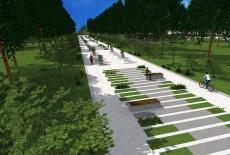 Представлено проект реконструкції Старого Парку