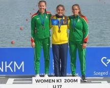 Дві золоті та бронзову нагороди завоювала тернопільська веслувальниця на міжнародній регаті «Олімпійські надії»