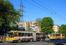 24 квітня  з 19.00 год. тимчасово зміниться рух тролейбусів на вул. Тарнавського