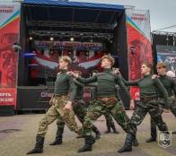 На Театральному майдані Тернополя відбулися урочистості з нагоди Дня захисників та захисниць України