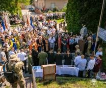 1 серпня відбулося відкриття пам'ятника Героєві російсько-української війни, почесному мешканцю м. Тернополя Михайлові Цимбалістому