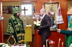 Сергій Надал привітав з тезоіменинами Архієпископа Тернопільського і Кременецького Нестора