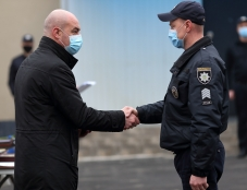 Сергій Надал привітав та нагородив працівників Управління поліції охорони у Тернопільській області