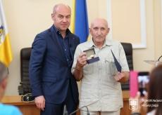 З нагоди професійного свята міський голова Сергій Надал привітав працівників будівельної промисловості