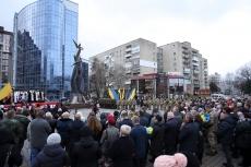 Пам'ять Героїв Небесної Сотні вшанували у Тернополі