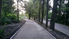 На вул. Чумацькій проклали велодоріжку