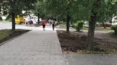 На вул. Київській відремонтували тротуар