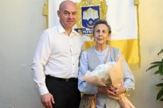 Очільник Тернополя привітав вдову репресованого воїна ОУН-УПА Галину Проць з ювілеєм