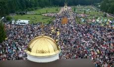 Міський голова Сергій Надал разом з тисячами прочан взяв участь в Загальнонаціональній прощі у Зарваниці