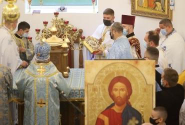 Освячення храму Покладення Чесної Ризи Пресвятої Богородиці УГКЦ