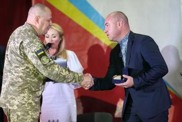 Нагородження тернополян з нагоди Дня захисника України 14.10.2019 р.
