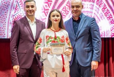 Вручення сертифікатів на отримання іменних стипендії та премій кращим учням і науковцям Тернополя