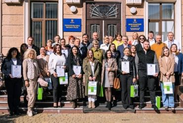 Нагородження представників туристичної галузі Тернопільської громади
